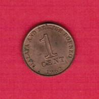 MALAYA & BRITISH BORNEO  1 CENT 1962 (KM # 6) #5273 - Malaysia