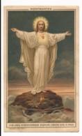 Image Pieuse Holy Card Santino Editeur BOUMARD Chromo Jésus Christ Montmartre Archiconfrérie Du Sacré Coeur - Images Religieuses