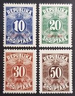 1925 Postage Due,, Republika Shqiptare, Albania, Shqipëria, *,**, Or Used - Albanie