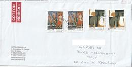 Lettera Dalla Grecia Per Marostica Con Francobolli Del 2010 (vedi Descrizione) - Grecia