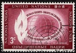 United Nations - Scott #47 Used (4) - New-York - Siège De L'ONU