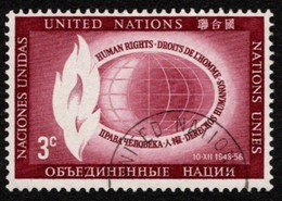 United Nations - Scott #47 Used (5) - New-York - Siège De L'ONU
