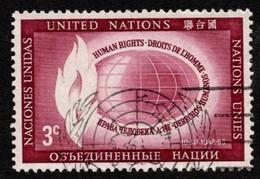 United Nations - Scott #47 Used (6) - New-York - Siège De L'ONU