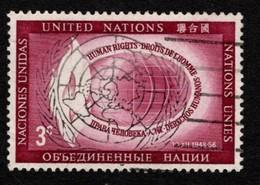 United Nations - Scott #47 Used (7) - New-York - Siège De L'ONU