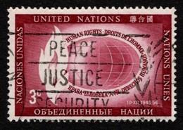 United Nations - Scott #47 Used (8) - New-York - Siège De L'ONU