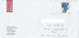 Lettera Dalla Grecia Per Marostica Con Francobollo Del 2010 (vedi Descrizione) - Grecia