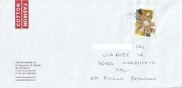 Lettera Dalla Grecia Per Marostica Con Francobollo Del 2009 (vedi Descrizione) - Grecia