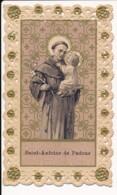 Image Pieuse Holy Card Santino Canivet Dentelle SAINT ANTOINE DE PADOUE - Images Religieuses