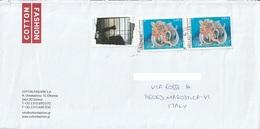 Lettera Dalla Grecia Per Marostica Con Francobolli Del 2009 (vedi Descrizione) - Grecia