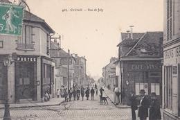CPA /  Créteil (94) Rue De Joly    Ed L P G  405  Voyagée Postes   Café   Rare   TBE - Creteil