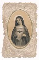 Image Pieuse Holy Card Santino Editeur Dopter XIXe Canivet Dentelle Demeure Du Saint Esprit - Devotion Images