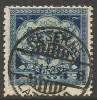LATVIA. 1923. POSTMARK RESEKNE. 2lats USED. - Latvia