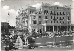 W3322 Rimini - Grand Hotel / Viaggiata 1956 - Rimini