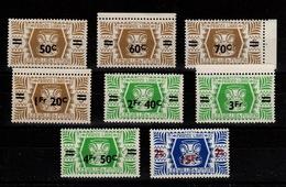 Wallis Et Futuna - YV 148 à 155 N** Complete Série De Londres Surchargée - Unused Stamps