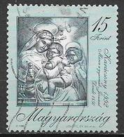 UNGHERIA 1992 NATALE YVERT. 3399 USATO VF - Ungheria