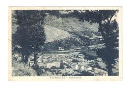 CT--02908-- FIUMINATA ( MACERATA ) PANORAMA - VIAGGIATA  1951 - Italia