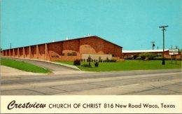 Texas Waco Crestview Church Of Christ - Waco