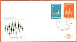 OLANDA - NEDERLAND - Paesi Bassi - 1972 - Europa Cept - 's-Gravenhage - FDC - 1972