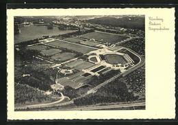 AK Nürnberg, Stadion, Fliegeraufnahme - Cartoline