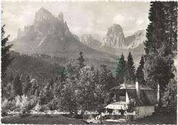 W3346 Dintorni Di Primiero (Trento) - Dolomiti - Il Cimerlo E La Cima Canali - Panorama / Viaggiata 1953 - Italie