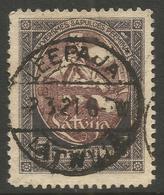 LATVIA. 1920. POSTMARK LEEPAJA. 5r HIGH VALUE. USED - Latvia