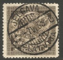 LATVIA. 1923. POSTMARK JELGAVA. 1lats USED. - Latvia