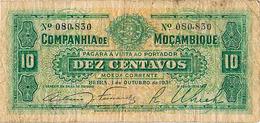 «MOÇAMBIQUE» 10 CENTAVOS DE 1 OUTUBRO DE 1931 - Portugal