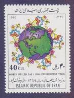 IRAN 1990 - World Health Day, 1v MNH - Irán