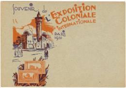 """REF LSAU6 - EP  CP TSC SEMEUSE CAMEE 40c """"EXPOSITION COLONIALE INT.LE PARIS 1931"""" - Entiers Postaux"""