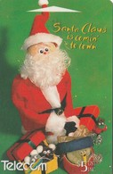 "TARJETA TELEFONICA DE NUEVA ZELANDA, NAVIDAD - CHRISTMAS. Santa Claus ""495B"". G-195. (094) - Christmas"