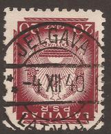 LATVIA. POSTMARK JELGAVA. 20s USED. - Latvia