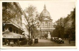 75005 PARIS - Eglise De La Sorbonne - Américan Bar Dancing - Quelques Voitures Anciennes - Qualité Photo - Arrondissement: 05
