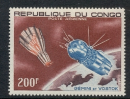 Congo 1967 Spacecraft Gemini & Vostok 200f MLH - Democratic Republic Of Congo (1997 - ...)