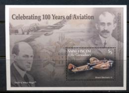 St Vincent 2003 100 Years Of Aviation , Bristol Blenheim MS MUH - St.Vincent (1979-...)