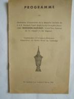 CAMBODGE Phnom-Penh PROGRAMME Cérénomnies D'Incinération  S.A.R. Sâmdech Préah ... NORODOM-SUTHAROT Grand'Père  Paternel - Programmes