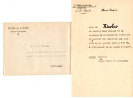 Cambodge Phnom-Penh  Chef De Cabinet De Sa Majesté - Honerer  Présence Cérémonie  Prestation  SERMENT DES MANDARINS 1944 - Historical Documents