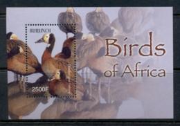 Burundi 2004 Birds Of Africa MS Muh - Burundi