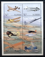St Vincent 1999 Aviation History M130 Clipper Sheetlet MUH - St.Vincent (1979-...)