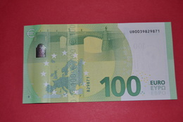 FRANCE 100 EURO - U002C2 Série Europa - Serial Number: UB0039829871 - UNC NEUF - 100 Euro