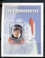 Guinea 1999 Space Exploration Cosmonauts John Glenn MS MUH - Guinea (1958-...)