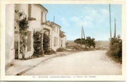 17750 ÉTAULES - Route Des Marais, Actuellement Rue Du Maine Simon D 145 - éditeur Gaby, Sépia Et Bleu - Autres Communes