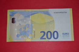 FRANCE 200 EURO - U003C4 - Serie Europa - UC6050956726 - FRANCE U003C4 - UNC NEUF - 200 Euro