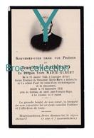 Laprugne, Saint-Etienne Valbenoîte, Lalouvesc, Mémento Jean-Marie Balichard, Frère Marie-Albert, 12/09/1916 - Andachtsbilder