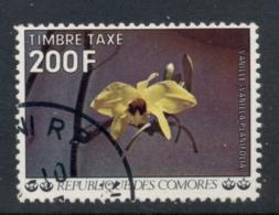 Comoro Is 1977 Postage Due 200f Vanilla FU - Comoros