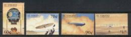 St Vincent 1999 Aviation History MUH - St.Vincent (1979-...)