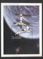 St Vincent 1999 Space Exploration, Atlantis Space Shuttle MS MUH - St.Vincent (1979-...)