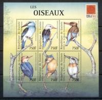 Guinea 2001 Birds, Sheetlet MUH - Guinea (1958-...)