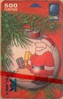 Costa Rica -  ICE, Test Proof, W/O Chip, Navidad 1998, San Nicolas, 11/98, Mint NSB TELMEX - Costa Rica