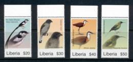 Liberia 2007 Birds Of Africa MUH - Liberia