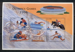 Sierra Leone 1996 Summer Olympics Atlanta 300le Sheetlet MUH - Sierra Leone (1961-...)